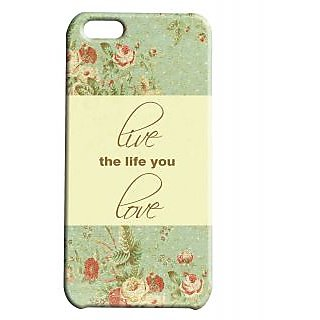 Pickpattern Back Cover For Apple Iphone 5C LIVEI5C-2528