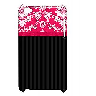 Pickpattern Back Cover For Apple Ipod Touch 4 SHADYPINKIT4-5332
