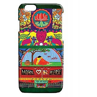 Pickpattern Back Cover For Apple Iphone 6 TRUCKPATTERNI6-3357