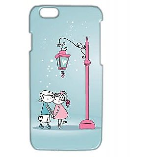 Pickpattern Back Cover For Apple Iphone 6 UNCONDIONALLOVEI6-3206