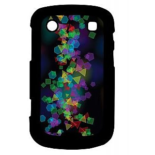 Pickpattern Back Cover For Blackberry Bold 9900 ABSTRACTPOLYGONS9900-5964