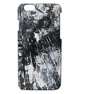 Pickpattern Back Cover For Apple Iphone 6 BLACKCLOUDYI6-2817