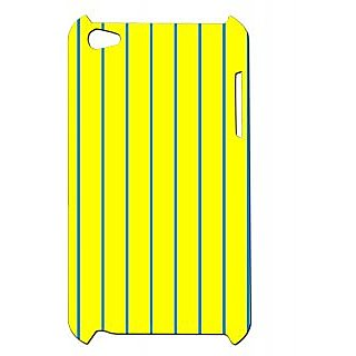 Pickpattern Back Cover For Apple Ipod Touch 4 BRIGHTYELLOWIT4-4793