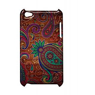Pickpattern Back Cover For Apple Ipod Touch 4 DARKRANGOLIIT4-4883