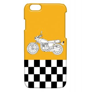 Pickpattern Back Cover For Apple Iphone 6 ENFIELDI6-3204