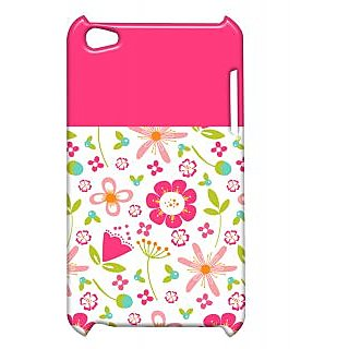 Pickpattern Back Cover For Apple Ipod Touch 4 MULTICOLORPINKIT4-5161
