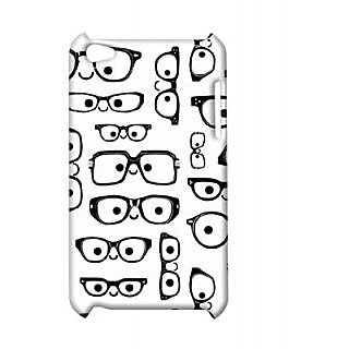 Pickpattern Back Cover For Apple Ipod Touch 4 NERDMODEIT4-5202