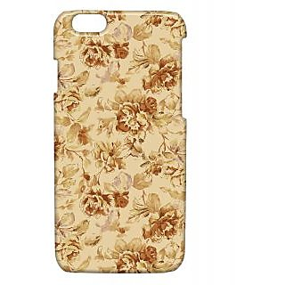 Pickpattern Back Cover For Apple Iphone 6 OLDFLOWERSI6-3336