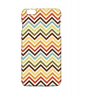 Pickpattern Back Cover For Apple Iphone 6 Plus SIMPLEZIGZAGI6PLUS-4097