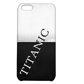Pickpattern Back Cover For Apple Iphone 5C TITANICI5C-2313