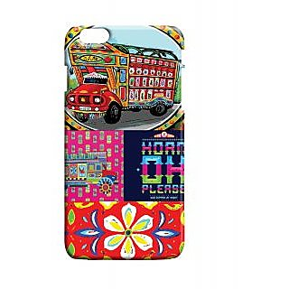 Pickpattern Back Cover For Apple Iphone 6 Plus TRUCKARTI6PLUS-4107