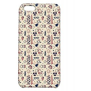 Pickpattern Back Cover For Apple Iphone 5C UMBRELLAI5C-2598
