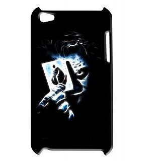 Pickpattern Back Cover For Apple Ipod Touch 4 BLACKCARDSIT4-4738