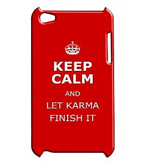 Pickpattern Back Cover For Apple Ipod Touch 4 KARMAIT4-5057