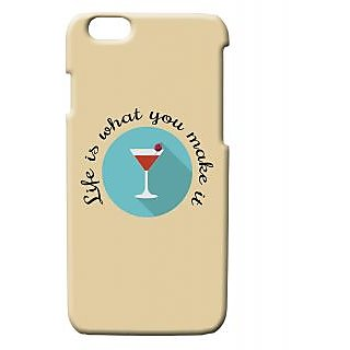 Pickpattern Back Cover For Apple Iphone 6 MARTINILIFEI6-2991