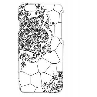 Pickpattern Back Cover For Apple Iphone 6 MEHENDII6-3309