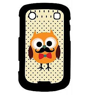 Pickpattern Back Cover For Blackberry Bold 9900 OWLCUTENESS9900-5999