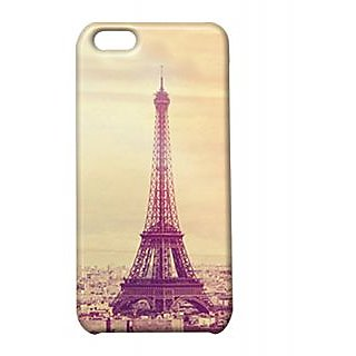 Pickpattern Back Cover For Apple Iphone 5C PARISYELLOWI5C-2123