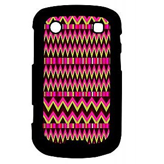 Pickpattern Back Cover For Blackberry Bold 9900 PINKETHNIC9900-5924