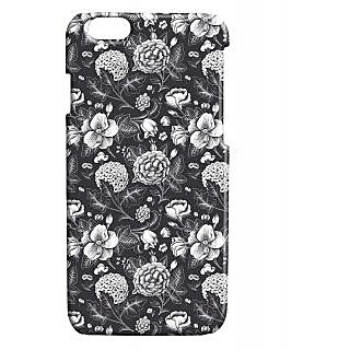 Pickpattern Back Cover For Apple Iphone 6 BLACKSERIESI6-3423