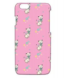 Pickpattern Back Cover For Apple Iphone 6 DANCINGKITTYI6-3329