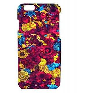 Pickpattern Back Cover For Apple Iphone 6 DARKREDI6-2885