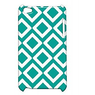 Pickpattern Back Cover For Apple Ipod Touch 4 GREENDIAMONDIT4-4990