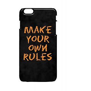 Pickpattern Back Cover For Apple Iphone 6 Plus OWNRULESI6PLUS-3996