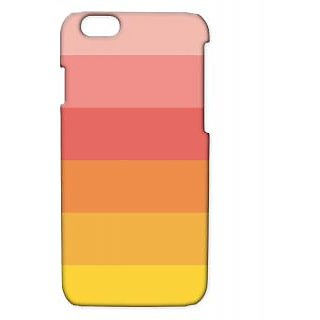 Pickpattern Back Cover For Apple Iphone 6 YELLOWTOREDI6-3175