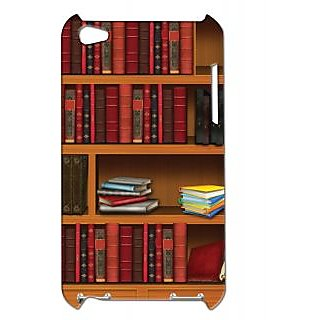 Pickpattern Back Cover For Apple Ipod Touch 4 BOOKSHELFCOVERIT4-4786