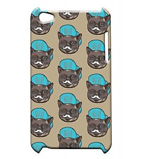 Pickpattern Back Cover For Apple Ipod Touch 4 CAPCATIT4-4815