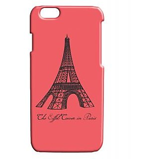Pickpattern Back Cover For Apple Iphone 6 EIFFELTOWERI6-3381