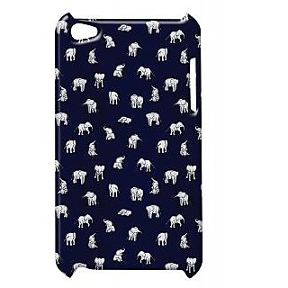 Pickpattern Back Cover For Apple Ipod Touch 4 ELEPHANTCARNIVALIT4-4914