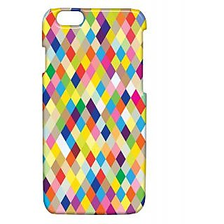 Pickpattern Back Cover For Apple Iphone 6 FADEDCOLORSI6-3298