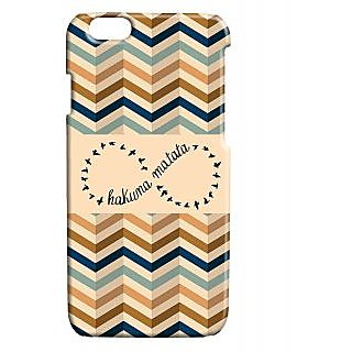 Pickpattern Back Cover For Apple Iphone 6 HAKUNAMATATAI6-3437