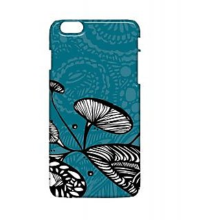 Pickpattern Back Cover For Apple Iphone 6 Plus LOTUSLEAFI6PLUS-4250