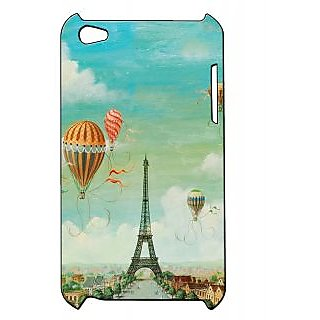 Pickpattern Back Cover For Apple Ipod Touch 4 PARISNESSIT4-5224