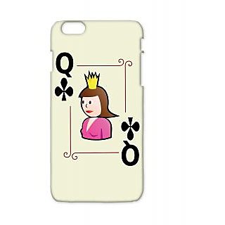 Pickpattern Back Cover For Apple Iphone 6 Plus QUEENI6PLUS-4005