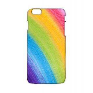Pickpattern Back Cover For Apple Iphone 6 Plus RAINBOWLACEI6PLUS-3825