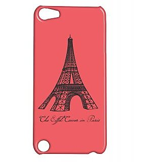 Pickpattern Back Cover For Apple Ipod Touch 5 EIFFELTOWERIT5-5669