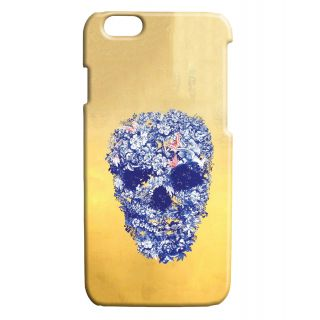 Pickpattern Back Cover For Apple Iphone 6 FLOWERYSKULLI6-3434