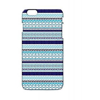 Pickpattern Back Cover For Apple Iphone 6 Plus NAVYBLUEI6PLUS-3769