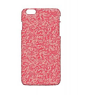 Pickpattern Back Cover For Apple Iphone 6 Plus PINKLEAFI6PLUS-4065