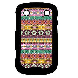 Pickpattern Back Cover For Blackberry Bold 9900 PINKMATRESS9900-5925