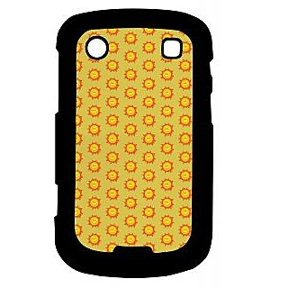 Pickpattern Back Cover For Blackberry Bold 9900 SMILINGSUN9900-5929