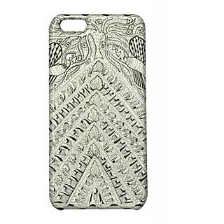 Pickpattern Back Cover For Apple Iphone 5C WHITETRIANGLEI5C-2378