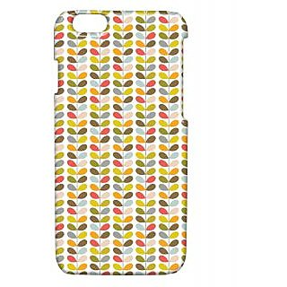 Pickpattern Back Cover For Apple Iphone 6 COLORFULLEAFDESIGNI6-3327
