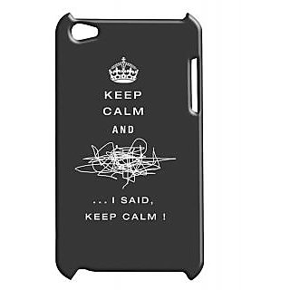 Pickpattern Back Cover For Apple Ipod Touch 4 KEEPCALMIT4-5058