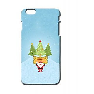 Pickpattern Back Cover For Apple Iphone 6 Plus MERRYCHRISTMASI6PLUS-3934