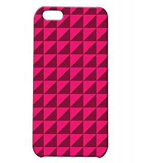 Pickpattern Back Cover For Apple Iphone 5C PINKSHADYVECTORI5C-2656